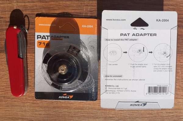 KOVEA PAT Adapter Packaging