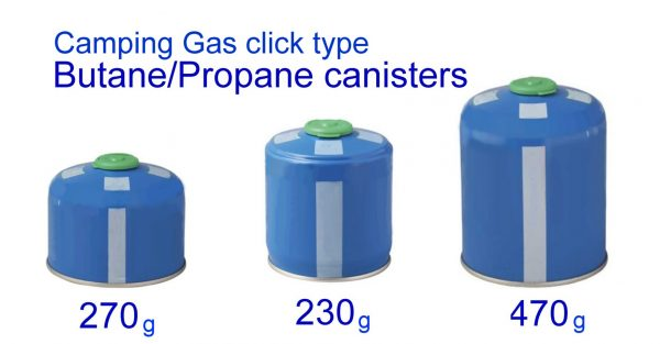 Campingaz Easy-Clic Plus canisters