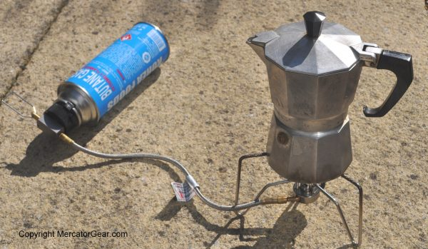 KOVEA Spider and Butane Adapter - Coffee