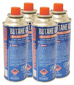 butane canisters