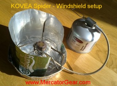 KOVEA Spider Windshield Mark I