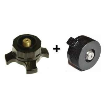 KOVEA PAT and butane adapters